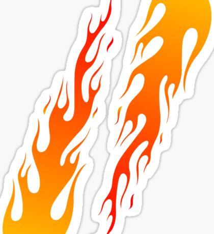 Twin Flames Sticker
