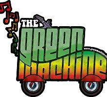 The Green Machine Sticker by TheGreenMachine