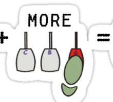 Drifting basics - Math sticker Sticker