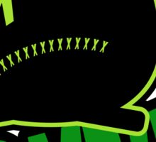 The Zombie Critter Green Sticker