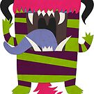 STRIPEY MONSTER!! by Thur
