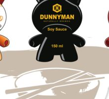 Asian Dunnyments Sticker