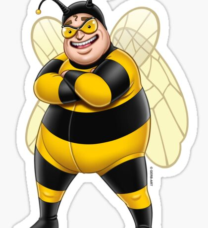 Superheroes - Bee-Boy Sticker
