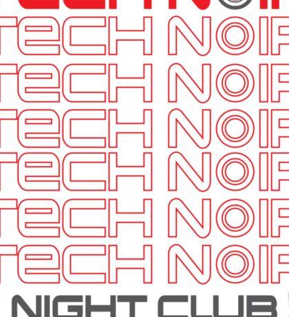 TECH NOIR Sticker