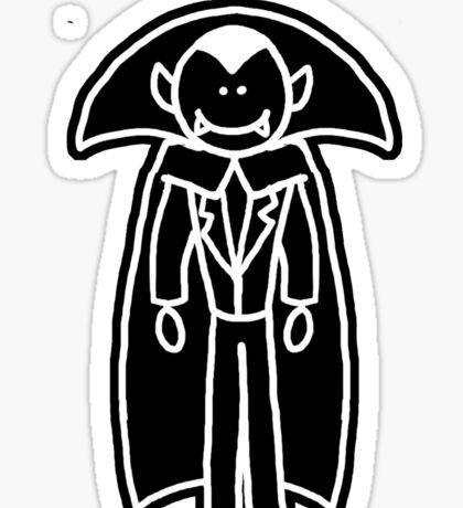 Me & My Monster Peeps - Dracula Sticker