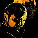 Dracula Sticker by Griggitee