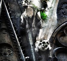 Gargoyles of Notre Dame 2 by Patito49