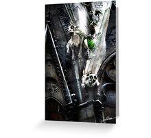 Gargoyles of Notre Dame 2 Greeting Card