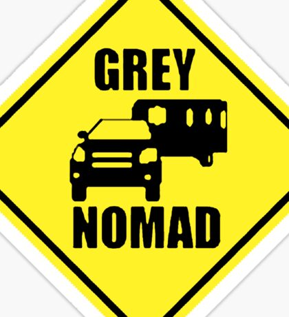 GREY NOMAD Sticker