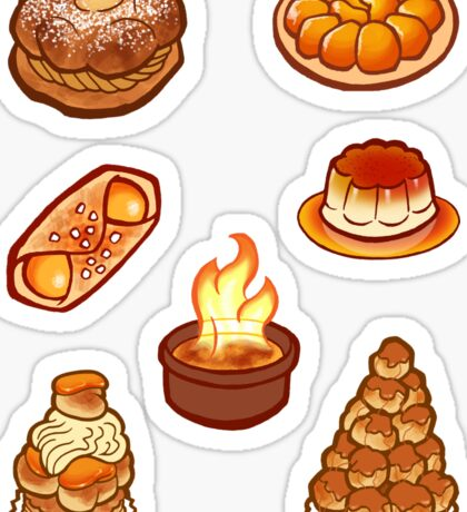 Caramel Treats Sticker