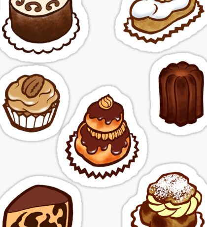 Coffee Treats Sticker