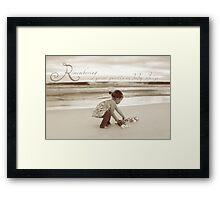 Precious Baby Framed Print