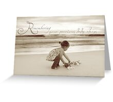 Precious Baby Greeting Card