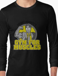 Dwight Schrute's Gym for Muscles Long Sleeve T-Shirt