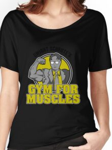 Dwight Schrute's Gym for Muscles Women's Relaxed Fit T-Shirt