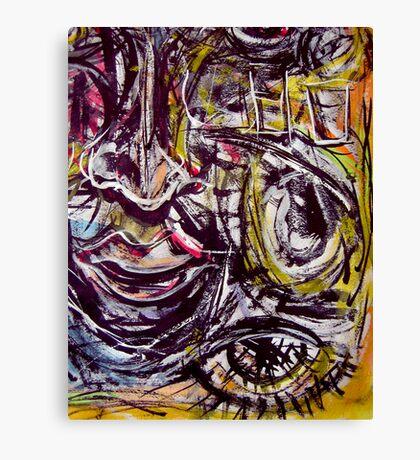 long night.... vivid dream  Canvas Print