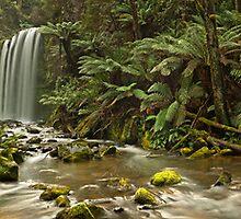 Hopetoun Falls Panorama II by pablosvista2