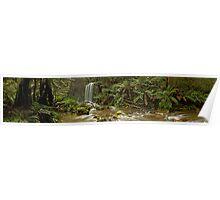 Hopetoun Falls Panorama II Poster