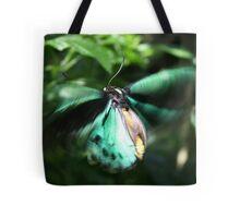 Jade Butterfly Tote Bag
