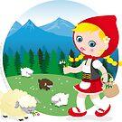 Shepherd girl by Macy Wong
