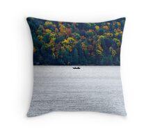 Fishing (part 2) Throw Pillow