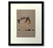 Terrakion Framed Print