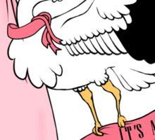 Stork - It's a girl! Sticker
