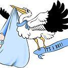 Stork - It's a boy! by trossi