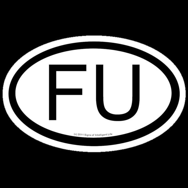 FU location sticker by SOIL