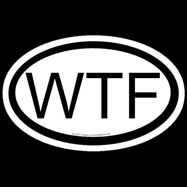 WTF location sticker by SOIL