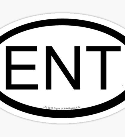 ENT location sticker Sticker