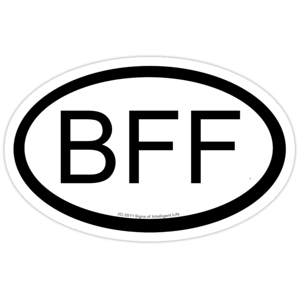 BFF location sticker by SOIL