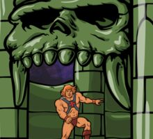 Bouncy Castle Grayskull  Sticker