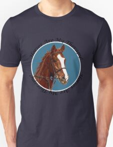 Horses Are My Therapy! T-Shirts & Hoodies T-Shirt