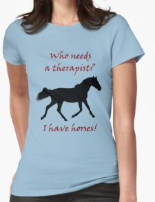 Therapy & Horse T-Shirt & Hoodies T-Shirt