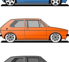 Mk1 - Sticker Pack by Vee Dub Guy
