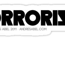 Horrorista Sticker