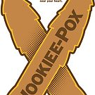 Wookiee-Pox Awareness - Sticker by Captain RibMan