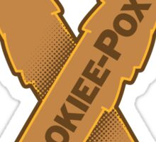 Wookiee-Pox Awareness - Sticker Sticker
