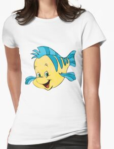 You really are a guppy. Womens Fitted T-Shirt