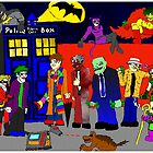 Gotham Dog Fights by thebat37