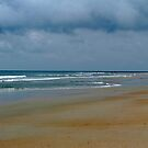 Cloudy Day At The Beach by Cynthia48