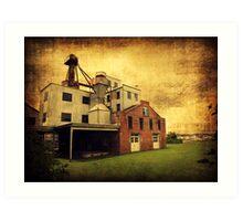 Haven's Mill Art Print