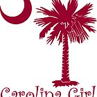 Garnet Carolina Girl Palmetto Moon by PalmettoTrading
