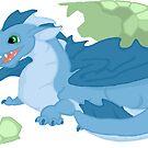 Dragon Hatchling by KMartinez