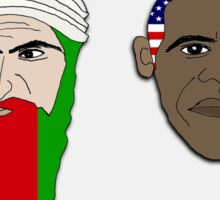 you say ossama, i say obama! - sticker Sticker