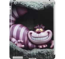 Through The Looking Glass Alice In Wonderland Cheshire Cat iPad Case/Skin