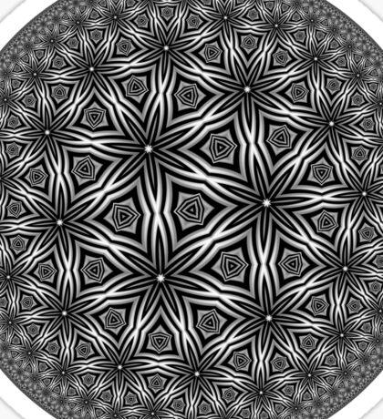 Barnsley Tessellation Three Sticker
