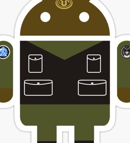 Droidarmy: Teal'c SG-1 sticker Sticker