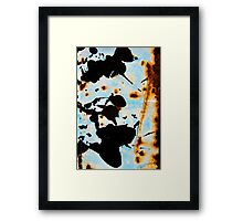 Ink Blot Framed Print